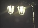 街路灯 点灯