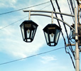 街路灯 昼